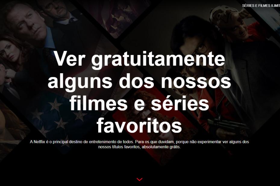 Netflix de graça? Simples e sem restrições